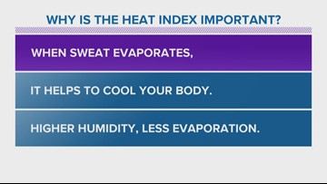 Bob's Weather Whys: Why is the heat index important
