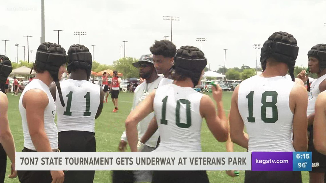 7on7 State Tournament Underway: Franklin, Hearne, and Lexington participate in D3 Bracket