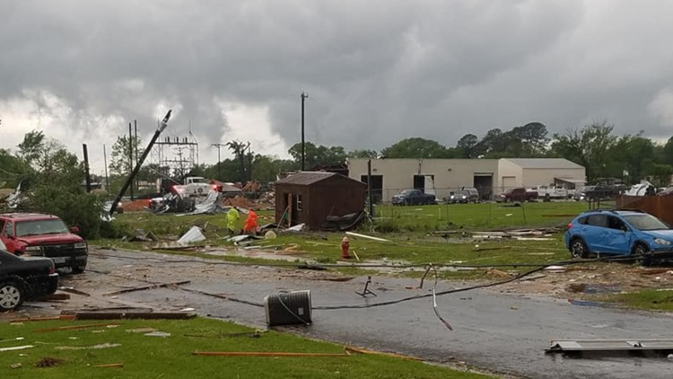 Tornado Damage in Franklin