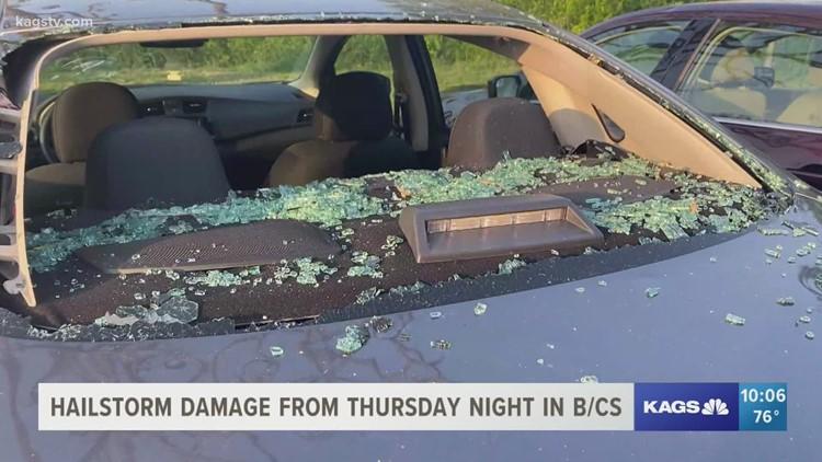 Devastation rained down in B/CS Thursday night