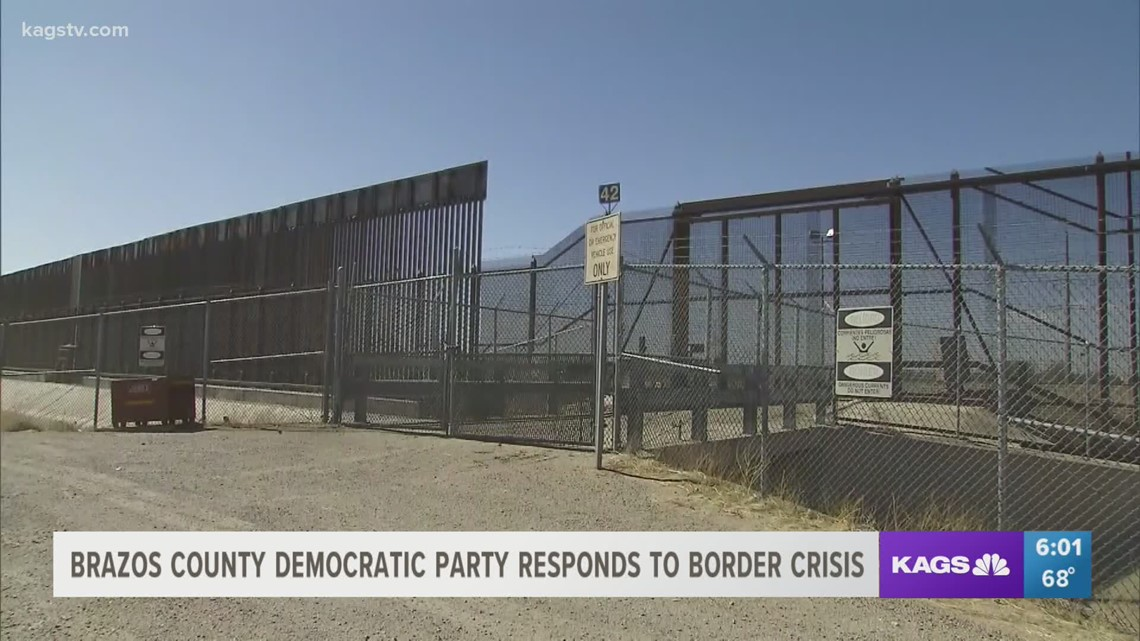 Brazos County Democratic Party discusses border policies, responds to Sessions