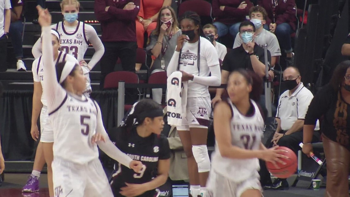 Aaliyah Wilson thriving for Aggies after injury
