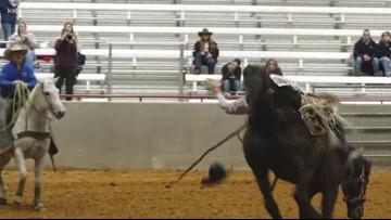 Aggie Rodeo Team hosts NIRA Rodeo