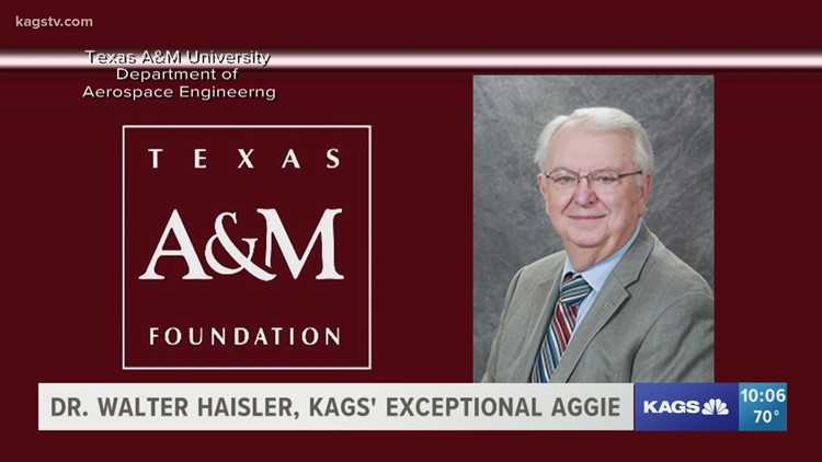 Dr. Walter Haisler, KAGS' Exceptional Aggie