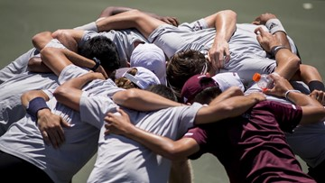 Texas A&M Tennis Earns Five Wins at Rice Fall Invitational