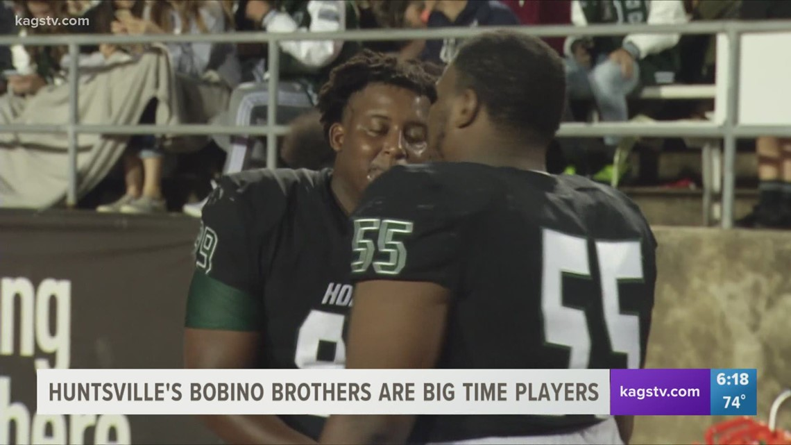 Bobino Brothers Dominate Up Front for Huntsville
