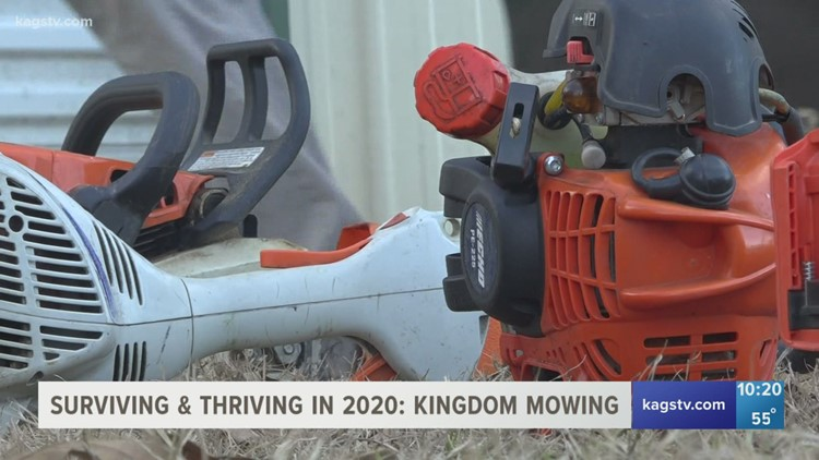 Surviving and Thriving in 2020: Kingdom Mowing