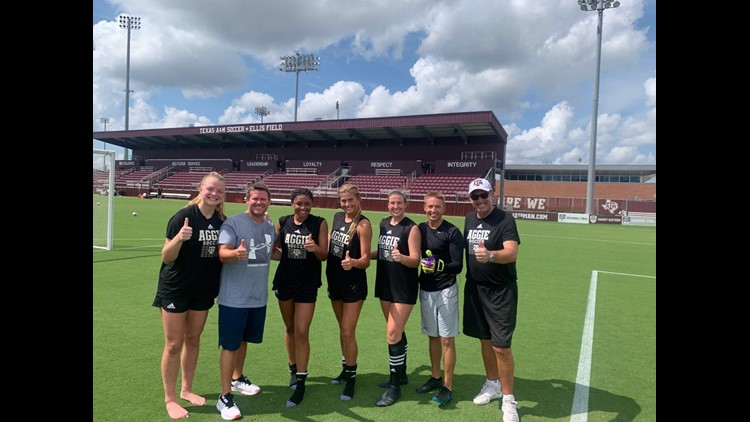 Aggie Athlete Challenge: PK Shootout with Texas A&M Soccer