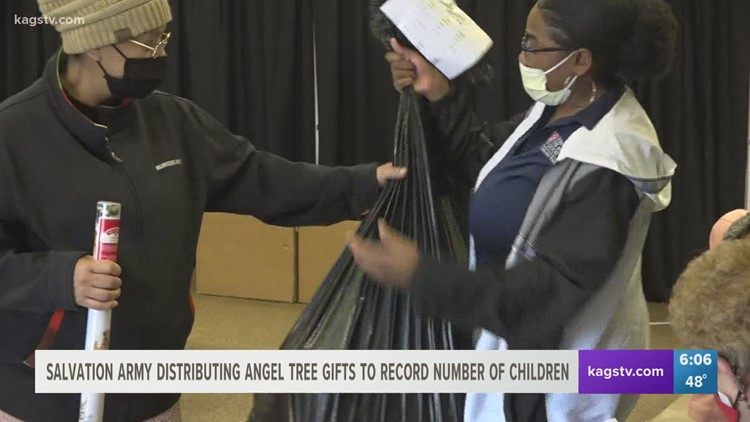 Salvation Army distributes Angel Tree gifts to record number of children
