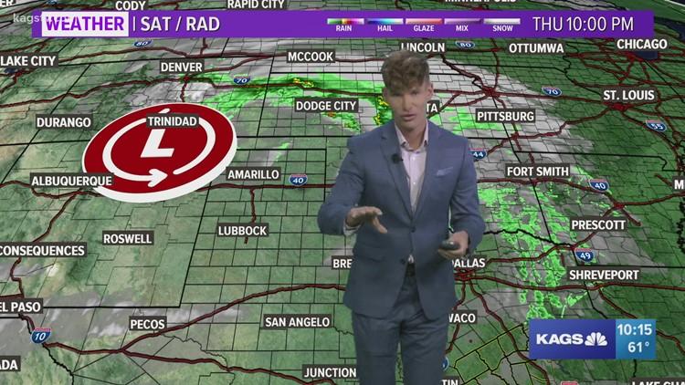Thursday night video forecast