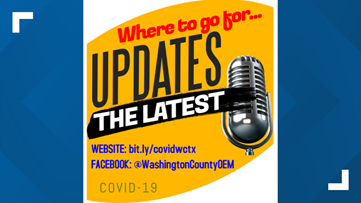 Website for COVID-19 updates announced for Washington County