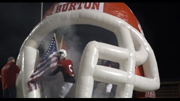 Burton ranked number 8 in Dave Campbell's Texas Football Magazine Class 2A Division II preseason poll