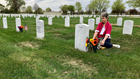 Ft. Snelling National Cemetery offers peace amid noise