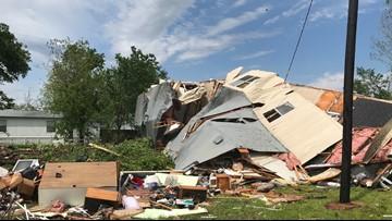 55 homes destroyed after EF3 tornado rips through Franklin