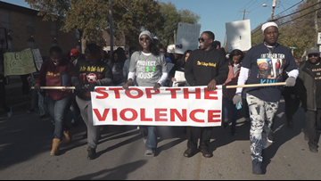 Hundreds march to 'Stop the Violence' in Killeen