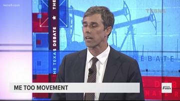 TEXAS DEBATE: O'Rourke says Sen. Ted 'inexplicably' voted against the Violence Against Women Act