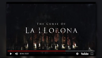 The weeping woman: 'La Llorona' horror movie debuts this week