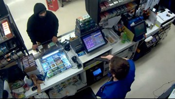 Plaid Pantry clerk fired for pulling gun on robber with hatchet: 'I was scared for my life'