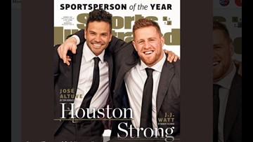 J.J. Watt, José Altuve are SI's 2017 Sportsperson of the Year Honorees