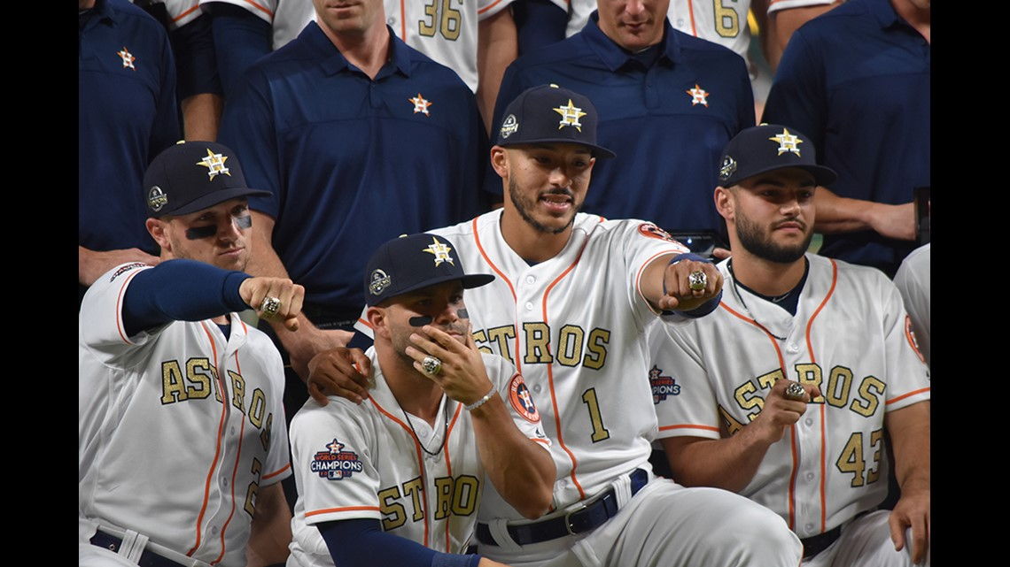 Astros Correa Ring Carats
