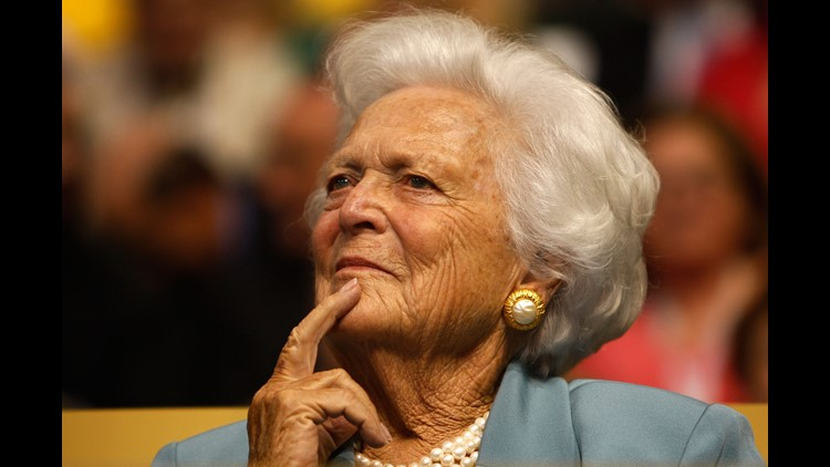 Former US first lady Barbara Bush in failing health, says spokesman