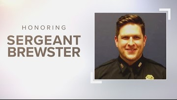 Sgt. Chris Brewster to be laid to rest today: Watch the funeral