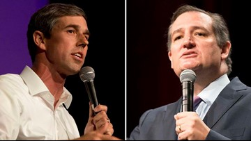 Beto O'Rourke leads Ted Cruz by three points in U.S. Senate race, new poll finds