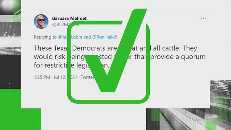 VERIFY: Yes, Texas lawmakers in the House can be arrested for not showing up, preventing a quorum
