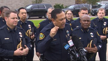 'Whose side are you on?' | After murder of Houston officer, Chief Acevedo blasts senators and the NRA