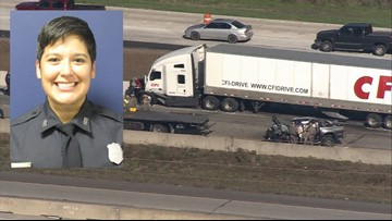 Off-duty Houston police officer dies in wrong-way  crash with big rig near Sealy