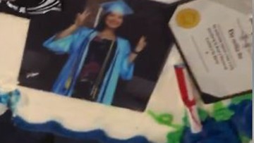 Graduation fail: Custom Walmart cake was Styrofoam