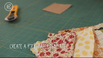 How to Make Patchwork Belt