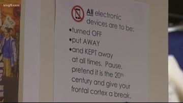 Phone-free zone: Teachers, students embrace rules at Mariner High School