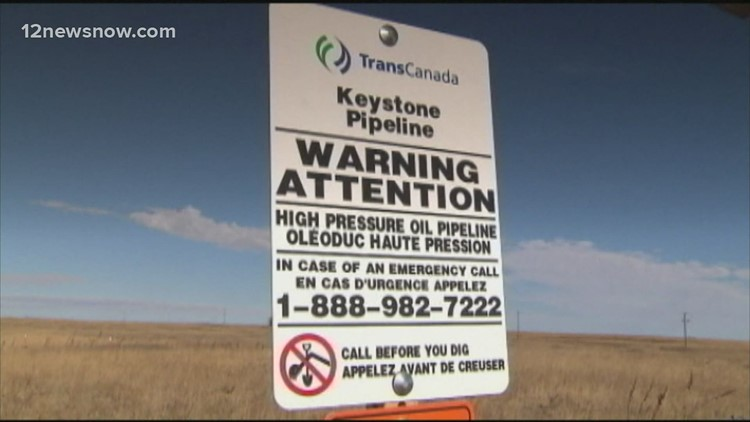 Texas among states suing Biden administration over Keystone Pipeline permit
