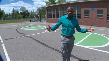 'I'm home': Former custodian starts new job as school principal
