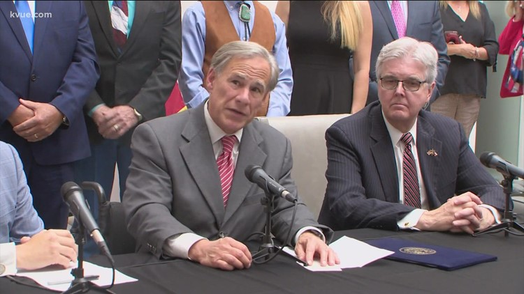 How does Governor Abbott plan to 'eliminate all rapists' across Texas?