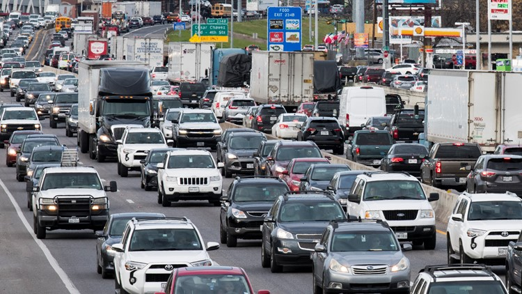I-35 stretch through Austin listed as most congested roadway in Texas