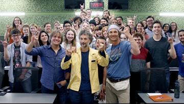 Matthew McConaughey officially joins UT Austin faculty as film professor