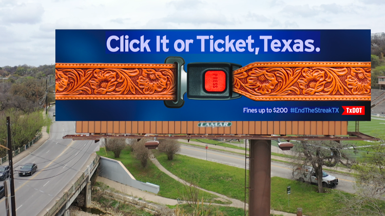 'Click It or Ticket' campaign kicks off ahead of Memorial Day weekend