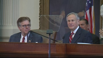 Greg Abbott, Dan Patrick and Dennis Bonnen propose raising the Texas sales tax in order to lower property taxes