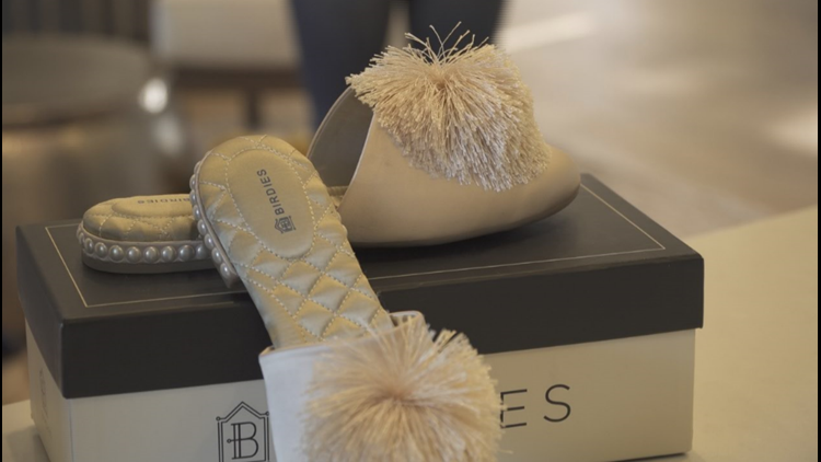 Sacramento shoe company designs special bridal slippers for Meghan Markle