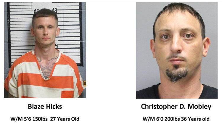 2 'armed and dangerous' Deep East Texas inmates in custody after escaping Tyler County Jail