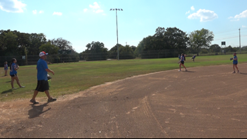 Local girls softball team a swing above the rest