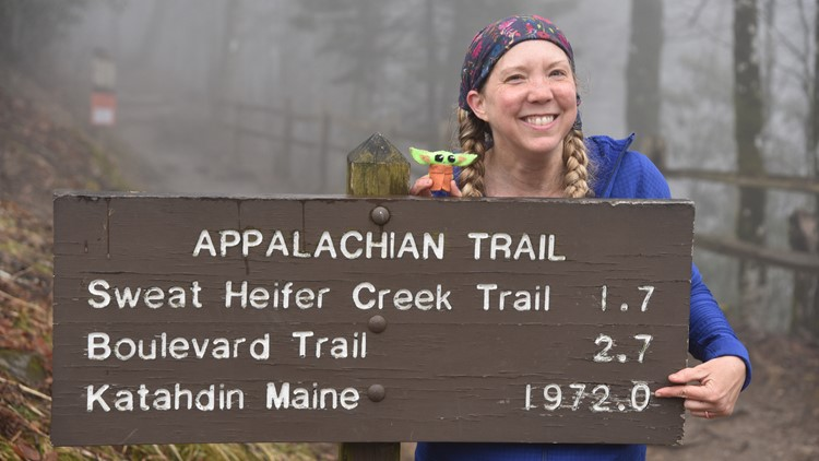 Trail log: Gretchen Pardon ends Appalachian Trail thru-hike to take precautions against COVID-19