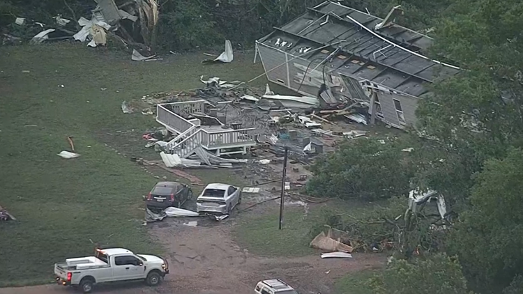 At least 5 tornadoes confirmed in North Texas, including EF2s near Blum and Waxahachie, officials say