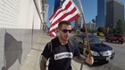 Marine Corps veteran's cross-country 'Thank the Police Tour' stops in Dallas