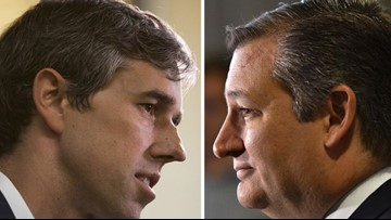 Poll: O'Rourke within margin of error against Cruz