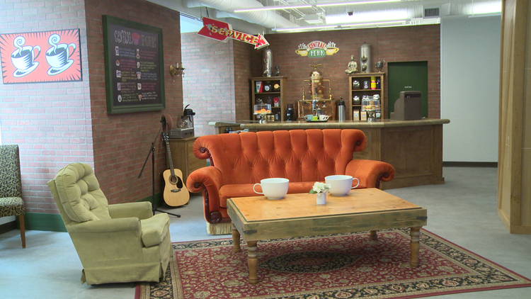 Have you ever wanted to visit Central Perk from 'Friends'? Just head to downtown Dallas