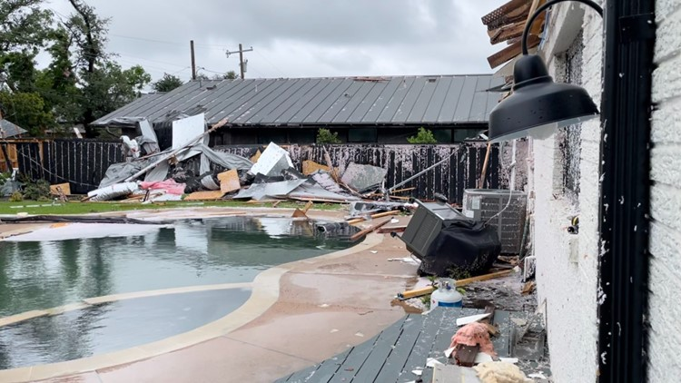 2 tornadoes confirmed in Dallas County on Sunday following storms