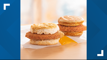 McDonald's adds chicken sandwiches to breakfast menu for limited time